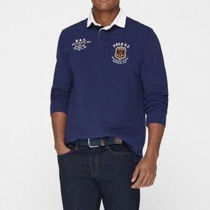 Ralph Lauren Mens Rugby M1 Long Sleeve Polo Shirt